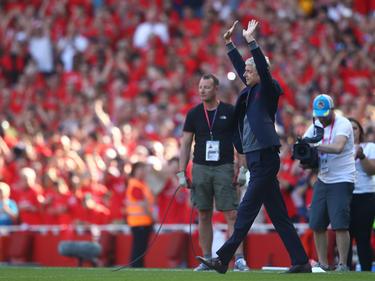 Arsène Wenger bei seinem letzten Heimspiel mit Arsenal