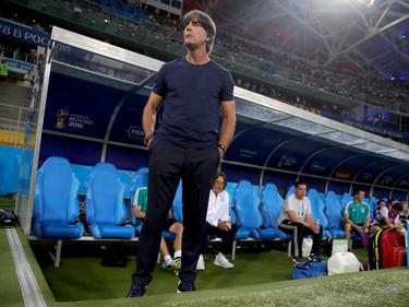 Bundestrainer Joachim Löw möchte noch nicht auf die K.o.-Runde blicken