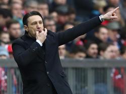Niko Kovač war trotz der Pleite in München zufrieden mit seiner Mannschaft