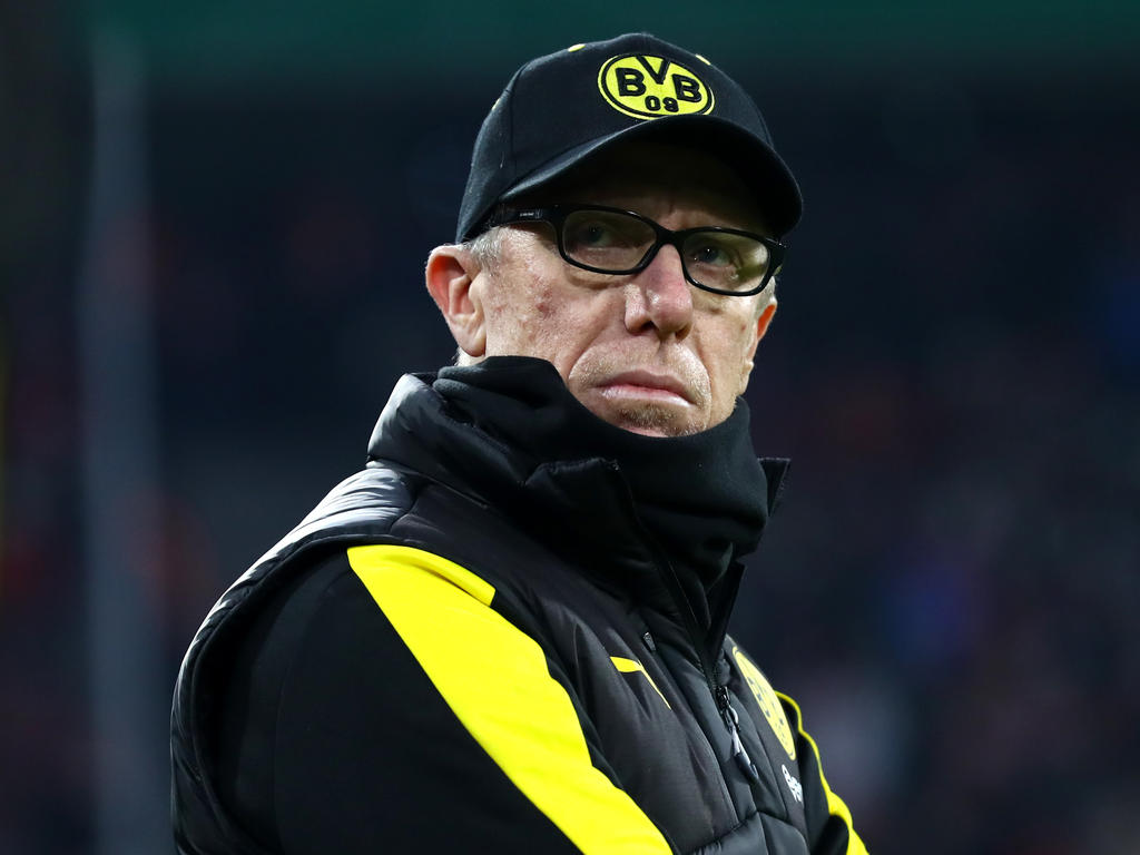 Die gute zweite Halbzeit gegen Bayern München macht Peter Stöger Hoffnung