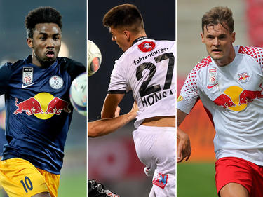 Tetteh, Honsak und Stangl sind nur drei Salzburg-Spieler, die derzeit leihweise woanders engagiert sind