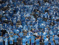 Die Schalker Fans sind trotz der Niederlagen guter Dinge