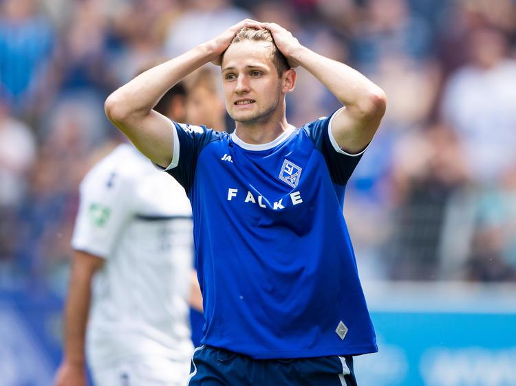 Das Relegationsspiel zwischen Mannheim und Uerdingen stand im Zeichen von Ausschreitungen