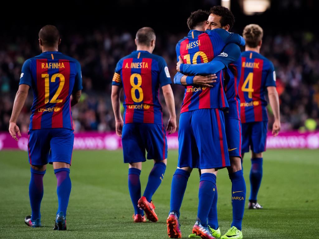Lionel Messi war wieder einmal der gefeierte Held auf Seiten Barcelonas