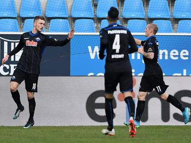 Der SC Paderborn setzte sich gegen den Chemnitzer FC durch