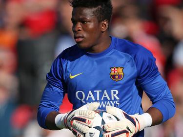 Ondoa, en su etapa en las categorías inferiores del Barcelona- (Foto: Getty)