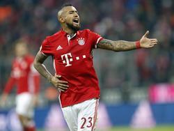 Arturo Vidal will mit dem FC Bayern ins Pokal-Viertelfinale einziehen