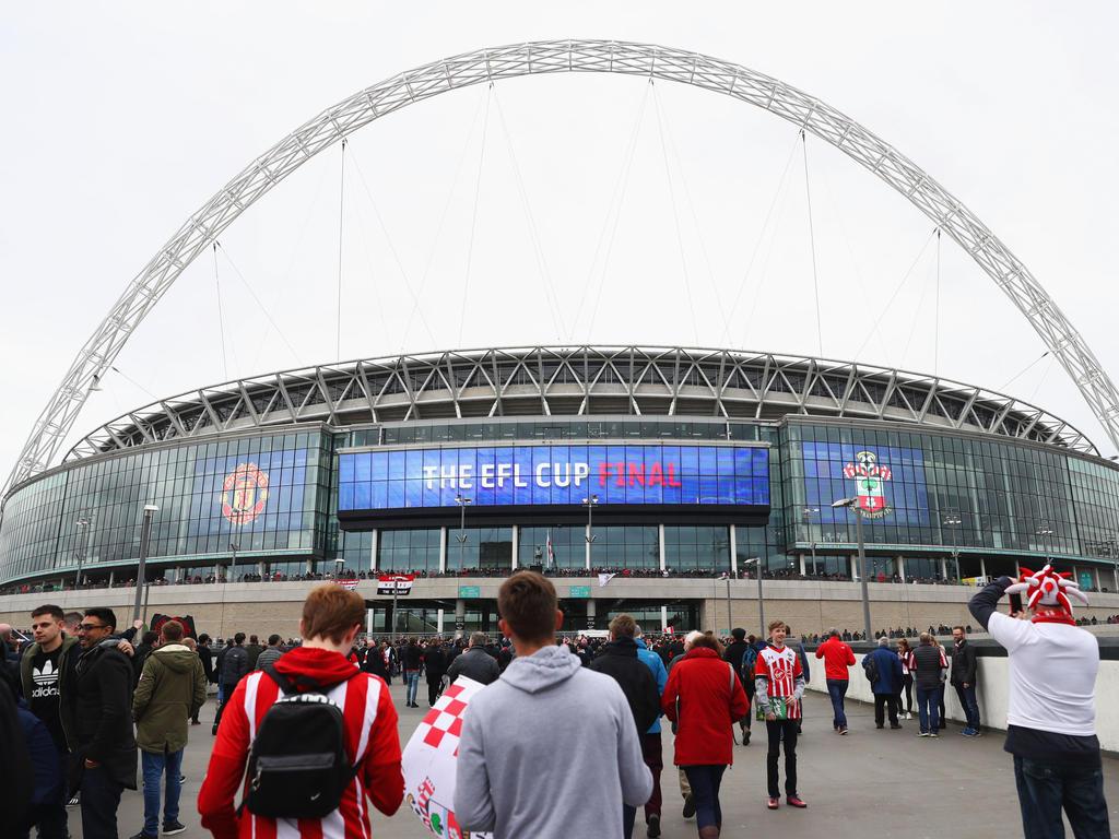 Auch in der kommenden Saison wird das League-Cup-Finale in Wembley ausgetragen