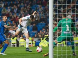 Mayoral salvó al Madrid con un doblete. (Foto: Getty)