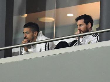 Lionel Messi musste die Pleite von der Tribüne aus beobachten
