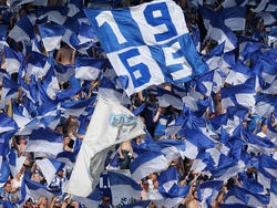 Die Magdeburg-Fans haben bereits die zweite Liga im Kopf