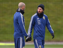 Lionel Messi wird nicht gegen die Spanier auflaufen können