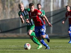 Julian Koch ist derzeit für Ferencváros Budapest am Ball.