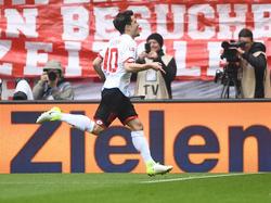 Krkić traf im Spiel gegen die Bayern