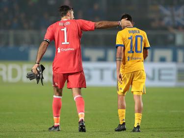 La Juve sólo empató en Bergamo. (Foto: Getty)