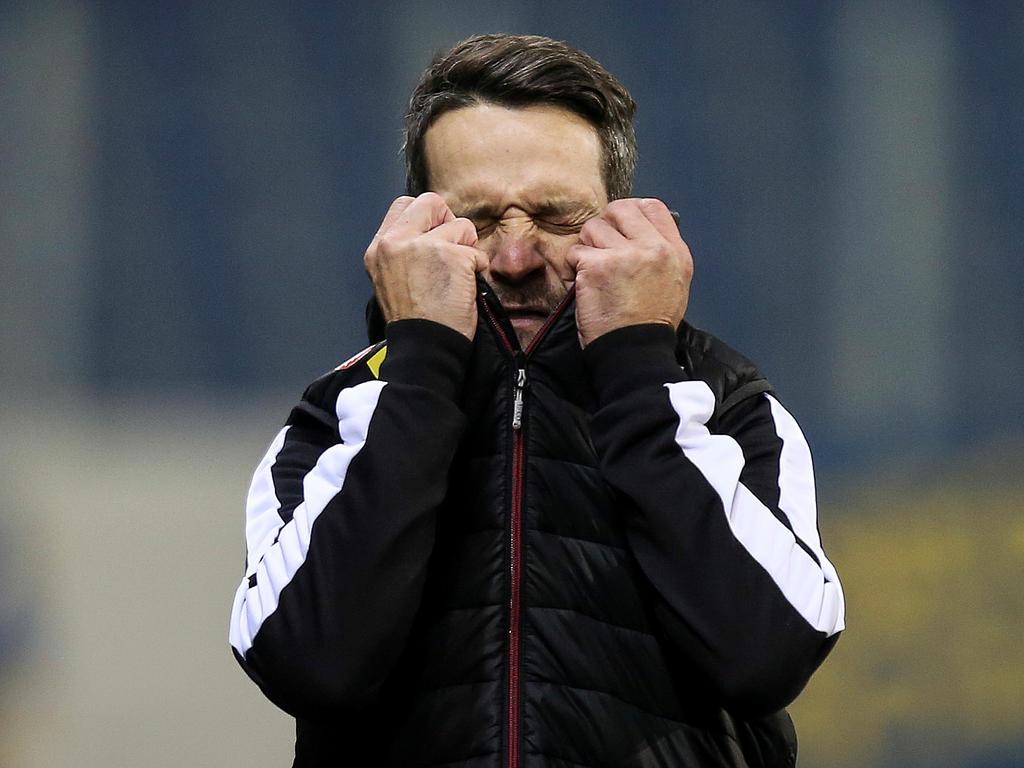 Trainer Oliver Lederer kann wohl am wenigsten für die Misere
