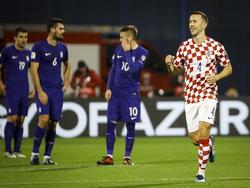 Perisic marcó el tercer gol de Croacia contra Grecia. (Foto: Getty)