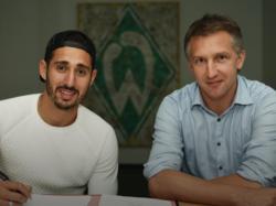 Ishak Belfodil (li.) wechselt auf Leihbasis zu Werder Bremen (Bildquelle: Twitter @werderbremen)