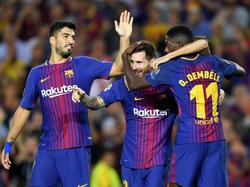 Der FC Barcelona setzte sich mit 3:0 gegen Juventus durch
