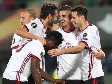 El Milan es un histórico que pelea por hacerse con la Europa League. (Foto: Imago)