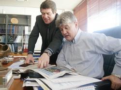 Vassilis Gagatsis and Otto Rehhagel