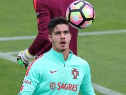 André Silva entrenando con Portugal (Foto: Getty)