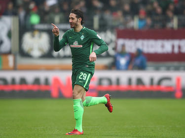 Ishak Belfodil war Werders Mann des Tages