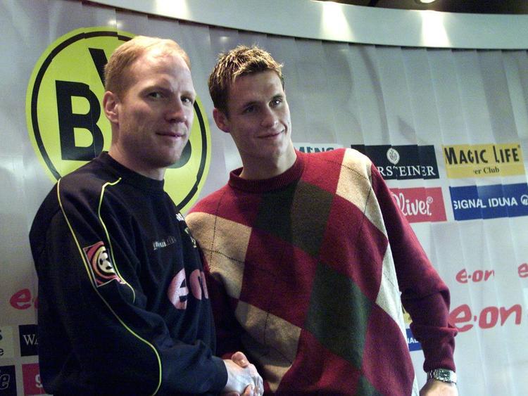 Matthias Sammer (l.) holte Sebastian Kehl 2002 zum BVB