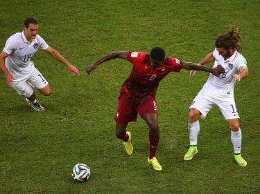 Portugal y Estados Unidos se vieron las caras en el Mundial de Brasil. (Foto: Getty)