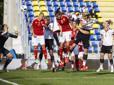 Dank eines Eigentores sicherten sich die DFB-Damen den Sieg in Ungarn