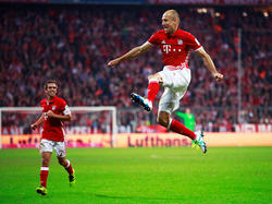 Arjen Robben feierte ein Traum-Comeback