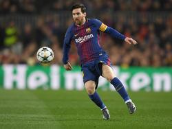 Lionel Messi zeigte gegen den FC Chelsea einmal mehr seine Weltklasse