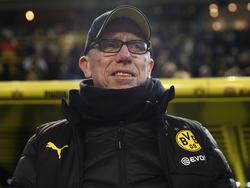 Peter Stöger steht mit dem BVB derzeit auf Platz 3