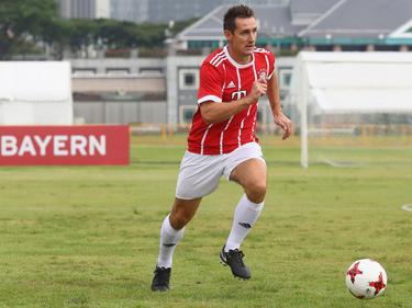 Miroslav Klose absolvierte schon die Asien-Reise mit den Bayern im letzten Sommer