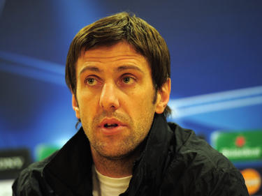 Trainert interimsweise das Nationalteam Serbiens: Ex-Bundesligaprofis Mladen Krstajić.