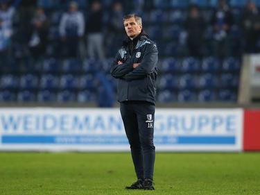 Magdeburg-Coach Jens Härtel spielt mit seiner Mannschaft am Wochenende nicht