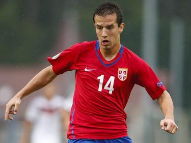 Jovanovic con la selección Sub-19 de Serbia. (Foto: Getty)