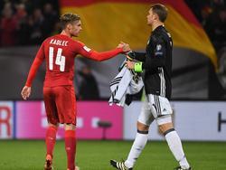 Die Tschechen sahen gegen Manuel Neuer und Co. kein Land