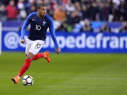 Kilian Mbappé traf gegen Russland doppelt