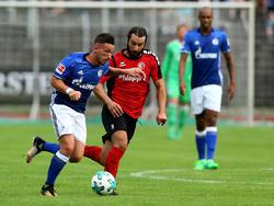 Avdidjaj (l.) soll nicht zu Schalke zurückkehren
