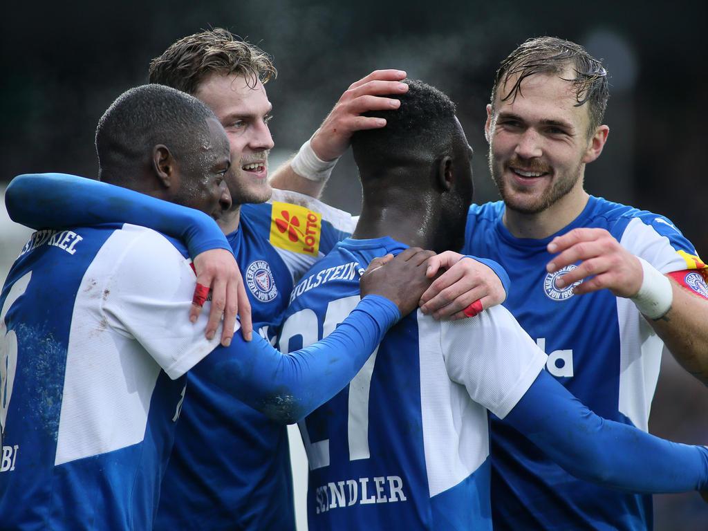 Die Kieler haben die Bundesliga im Blick