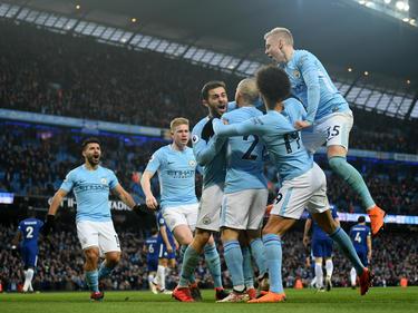 Manchester City durfte einen Sieg gegen Chelsea bejubeln