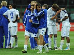 Schalke 04 gewann am 5. April 2011 mit 5:2 bei Inter Mailand