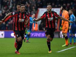 Bournemouth hat die Partie gegen Arsenal gedreht