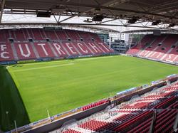 Het stadion van FC Utrecht.