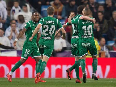 El Leganés está a sólo un paso de dar la campanada en Copa. (Foto: Getty)