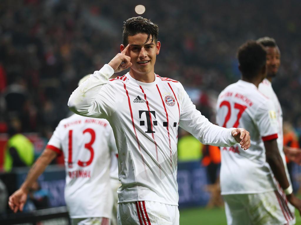 Spielt James weiter so stark, ist eine lange Bayern-Zukunft garantiert
