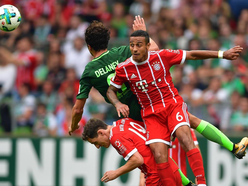 Thiago muss beim FC Bayern um seinen Platz kämpfen