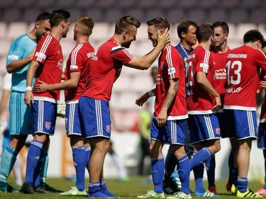 Die SpVgg Unterhaching ist in der nächsten Saison in Liga drei vertreten
