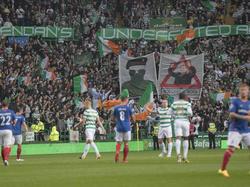 Die Celtic-Fans bringen den schottischen Meister ins Visier der UEFA